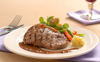 Indigo Pepper Steak