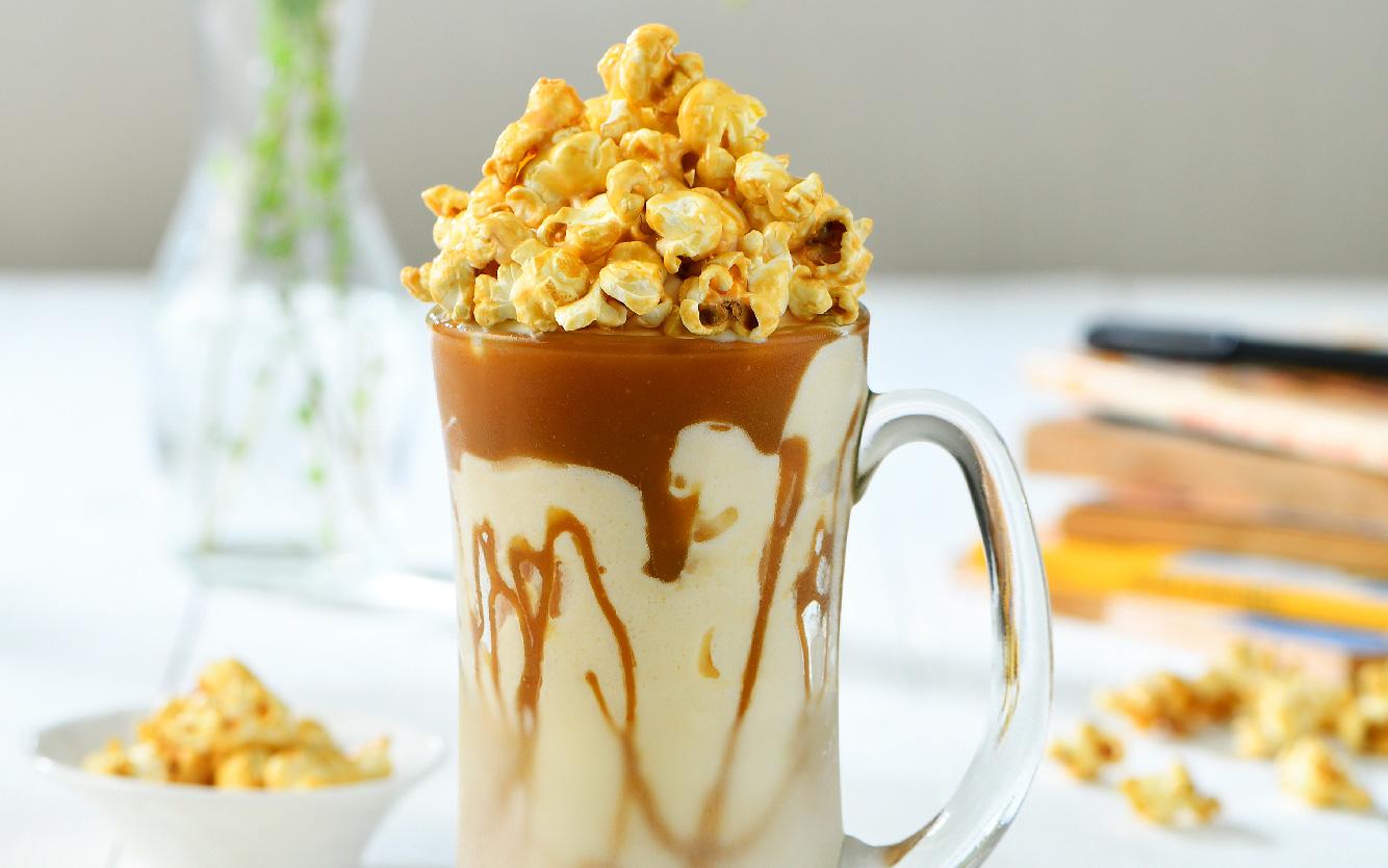 Caramel Popcorn Milkshake