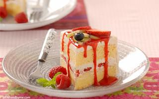 Very Berries Cake